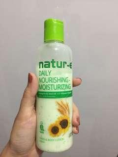 Body lotion nature E