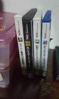 Jap 3DS Games