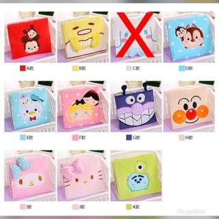 Tsum Tsum sanitary pouch