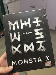 SEALED FIRST PRESS MONSTA X THE CODE
