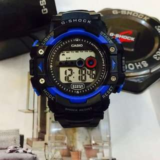 G-shock watch with can