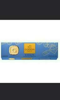 Godiva Chocolatier Hazelnut Praline Biscuit 榛子朱古力餅