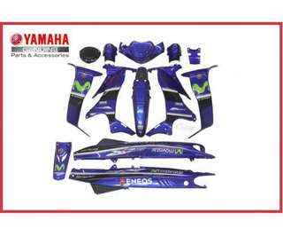 Yamaha orginal Y125ZR moviestar cover sets