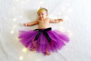Tutu Skirt for Infants 0-3mos
