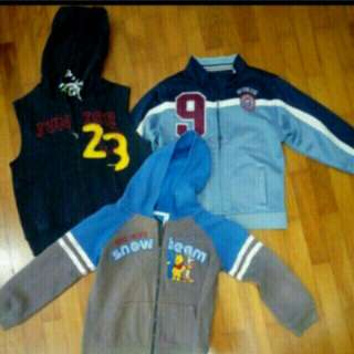Boy jackets bundle deal