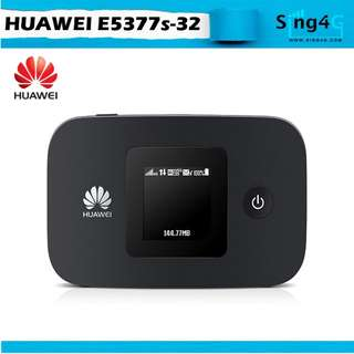 🚚 4G MIFI HUAWEI E5377 (4G 150mbps 10WIFI Share 6 or 12 hr)