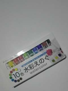 Daiso Watercolor from japan