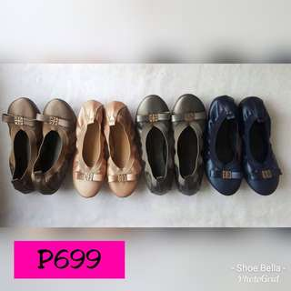 Flat Ballet Shoes by Shoe Bella
