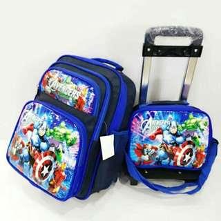 Kids 2in1 trolley bag