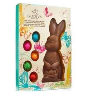 GODIVA兔子牛奶巧克力禮盒