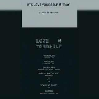 [ GO ] BTS LOVE YOURSELF : TEAR