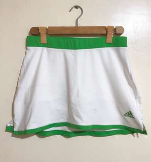 ADIDAS AdiPure White Tennis / Sports / Training / Workout Skirt