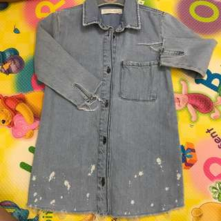Zara Girls Denim Dress