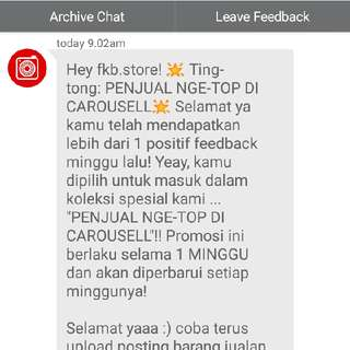 thankyou customer for trusting us