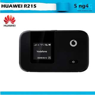 🚚 4G MIFI HUAWEI R215 (4G 100mbps 10WIFI Share Max 6hr)