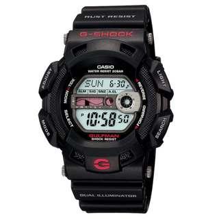 CASIO G-SHOCK G-9100 series G-9100 GULFMAN digital watch GSHOCK G9100