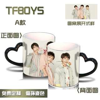 TFBOYS COLOUR CHANGEABLE MUGS