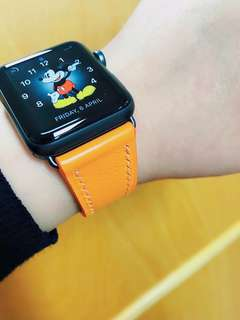 訂製 手縫 Apple Watch 錶帶