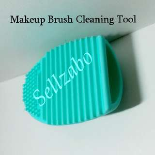 Makeup Brush Cleaning Tool Cosmetics Brushes Clean Cleansing Cleanser Cyan Colour