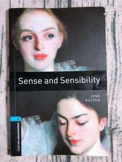 *小安的店*原文小說 Sense and Sensibility