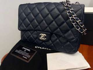 AUTHENTIC Chanel Classic 3 Bag with Extra Pouch