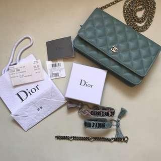 authentic christian Dior bracelets