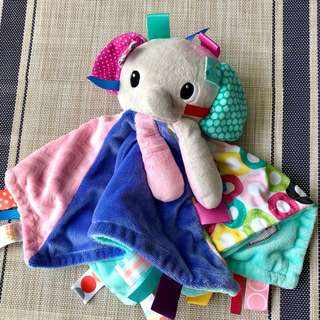 Bright starts elephant tag soother