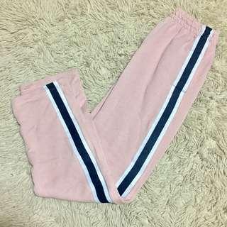 [ MARKED DOWN ] Pink Sweat Pants / Jogging Pants