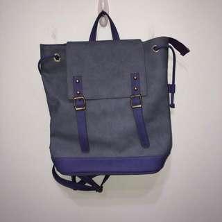 古著 紫色 後背包 vintage