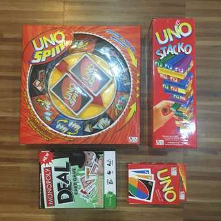 UNO Package (Free Monopoly Deal Card)
