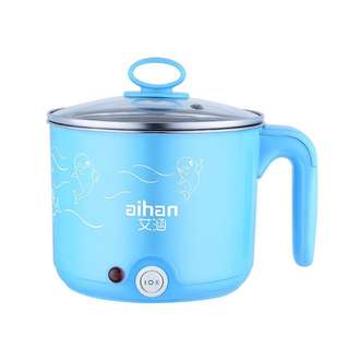 Mini Cooking Pot Small Electric Cooker Multifunctional Household Hot Pot Student Dormitory