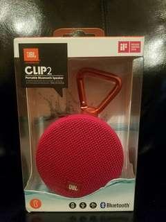 Speaker JBL clip 2 bluetooth waterproof garansi resmi IMS