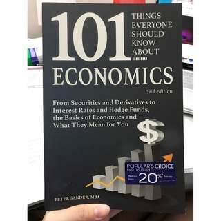 101 Things Everyone Should Know About Economics (2015)