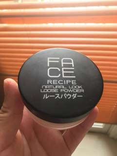 Face Recipe Loose Powder Natural