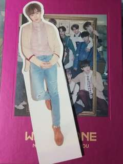[WTS/WTT]Wanna one NOTHING WITHOUT YOU (one ver.) sungwoon standee
