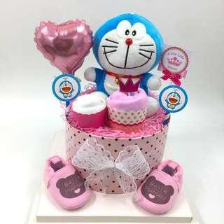 Promo!! Doraemon Diaper Cake (while Stock Lasts)
