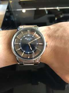 Kenneth Cole Watch with Transparent Dial