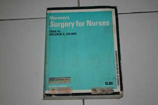 Moroney's Surgery for Nurses Book