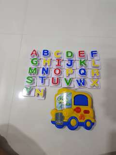 Leap Frog A-Z Fridge Magnet with Sound