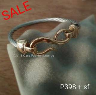 Stainless Cable Bangle
