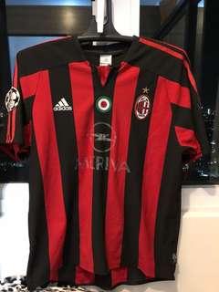 Adidas red/black football shirt