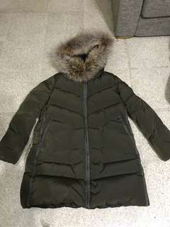 Brand new duck down parka