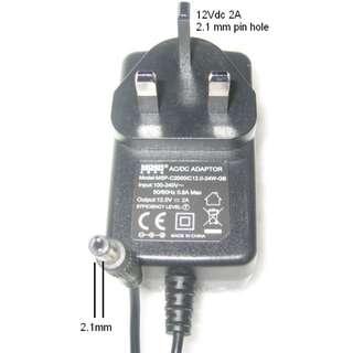 AC/DC Power Adaptor 12V 2A