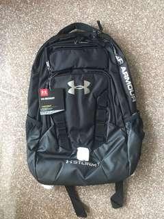 [BN] Under Armour UA Recruit Storm 1 Backpack Black