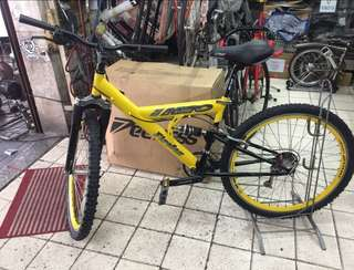 Haro Yellow Mountainbike Bike MTB For Sale