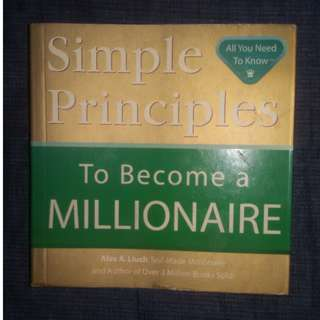 SIMPLE WAYS TO BECOME A MILLIONAIRE