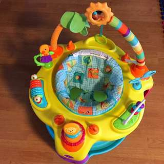 Exersaucer (Bright Starts Springin' Safari Bounce Around)
