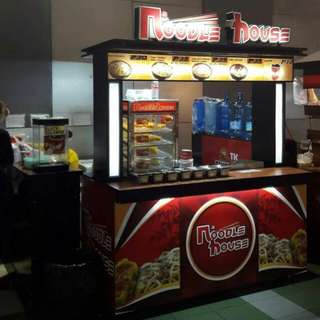 Invest now... Noodle House All in Package Food cart