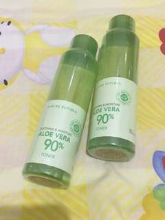 NATURE REPUBLING SOOTHING & MOISTURE ALOE VERA 90% TONER