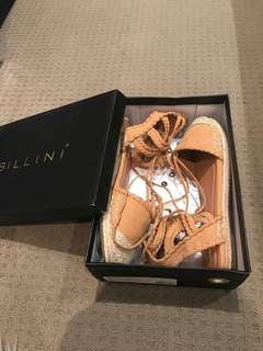 Sand suede Billini carola shoes